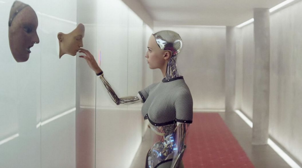 "Image credit: ""Ana"" from Ex Machina Movie ­ http://io9.gizmodo.com/from­maria­to­ava­why­are­so­many­artificial­intellige­1699274487"