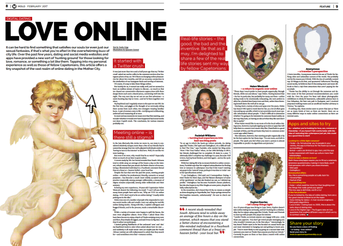 How I Met Your Father in Print Media with Molo Magazine