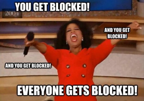 oprah blocked