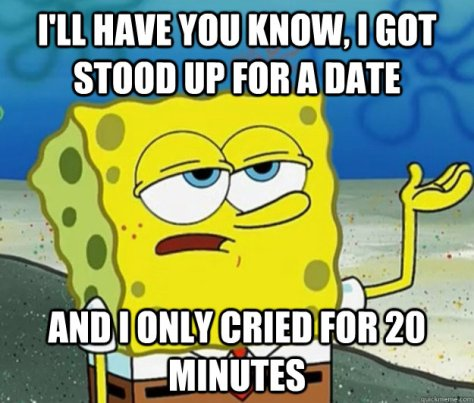 stood up on date
